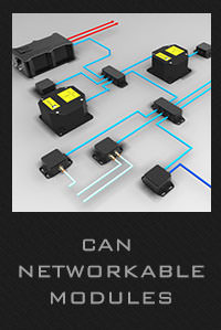 CAN networkable modules